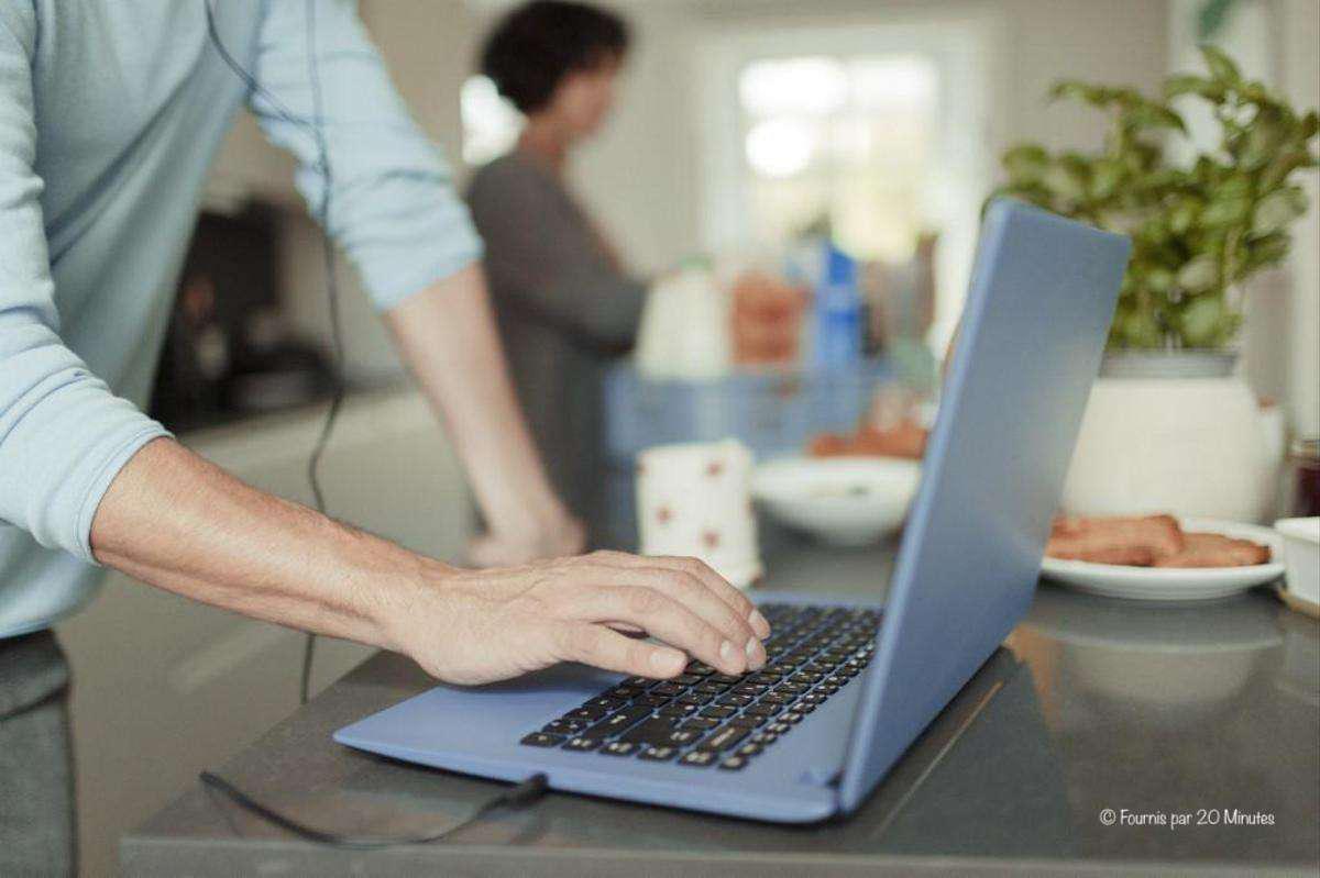 La pandémie brouille la frontière entre travail et vie privée