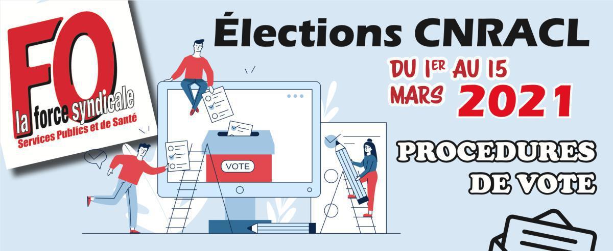 Élections CNRACL : procédures de vote
