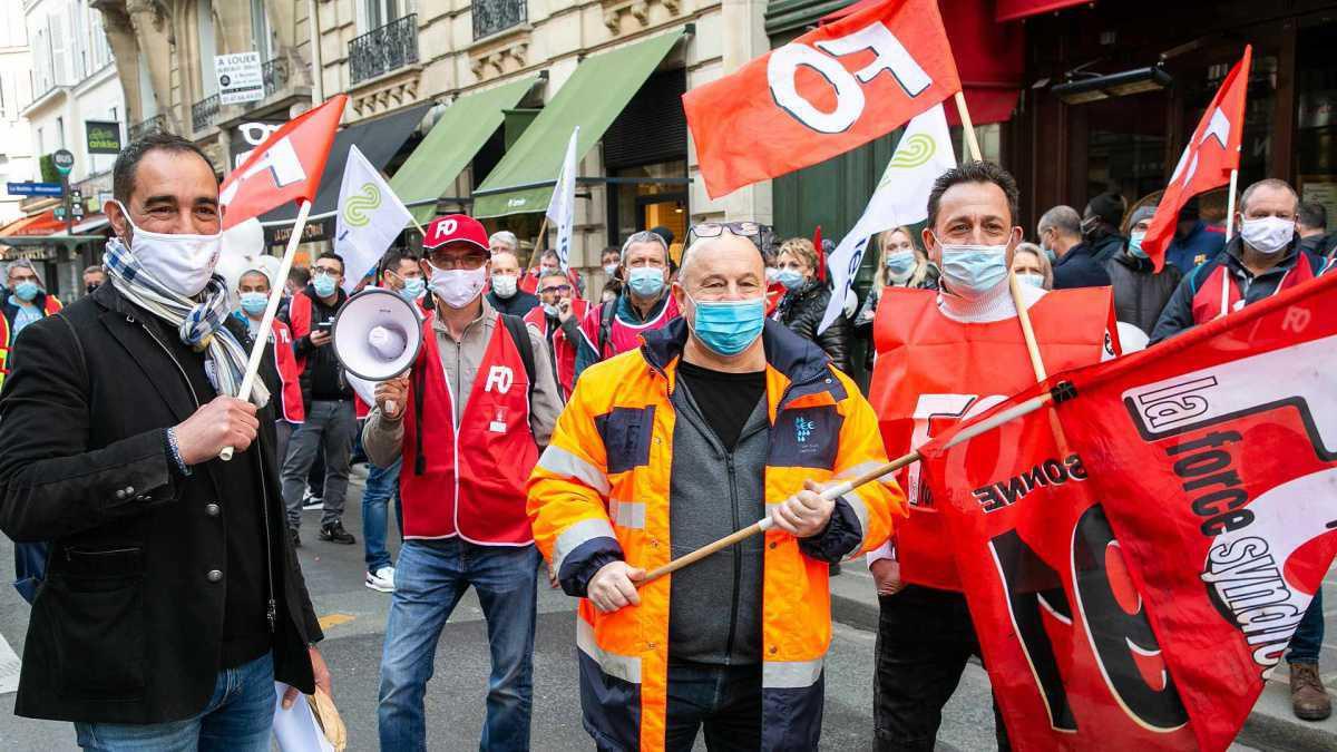 Défense des salariés de Suez : FO en première ligne pour les emplois