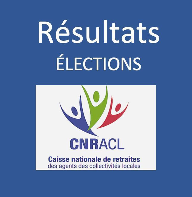 Résultats des dernières élections à la CNRACL
