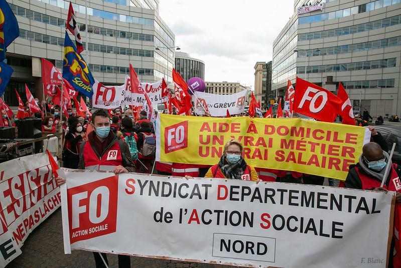 8 AVRIL : Manifestation à Paris des salariés oubliés du Ségur de la Santé...
