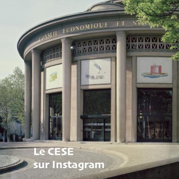 Suivez le CESE sur Instagram...