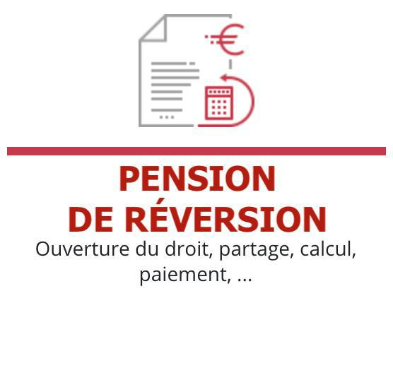 Documentation juridique : PENSION DE RÉVERSION