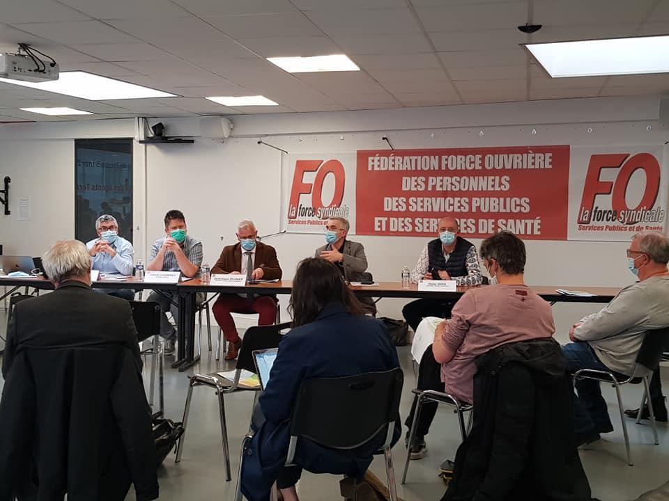 Pour une reconnaissance des agents territoriaux : conférence de presse du 5 mai 2021