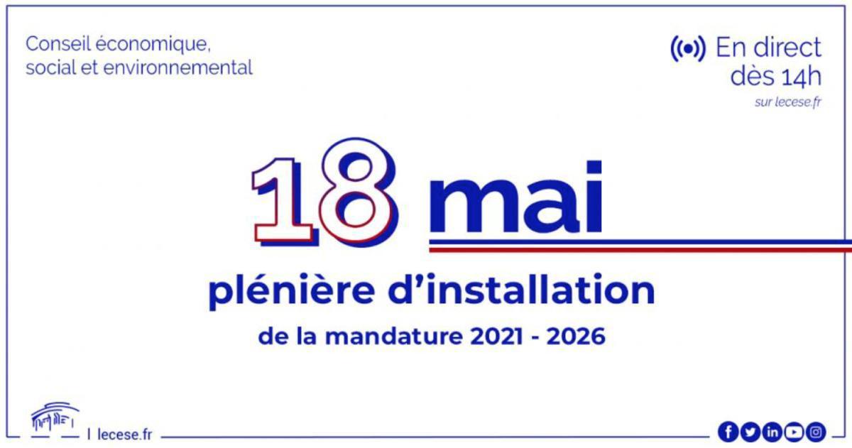 Installation de la nouvelle mandature 2021-2026