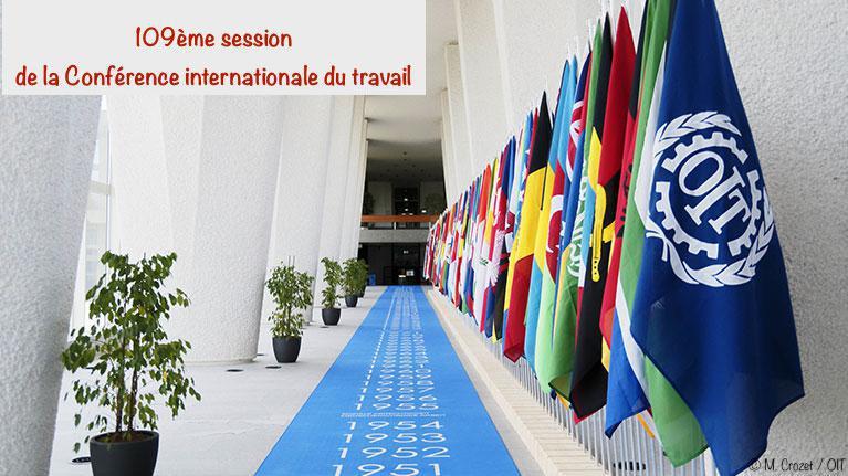 Ouverture de la toute première Conférence internationale du Travail virtuelle