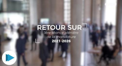 Retour sur la 1ère plénière de la mandature 2021-2026