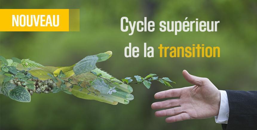 Transition : un cycle de formation de l'INET
