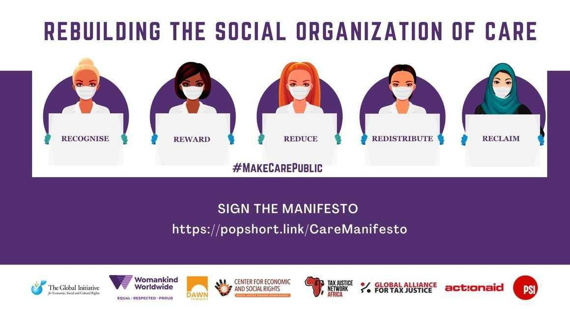 Mobilisation mondiale pour des services publics de soins inclusifs