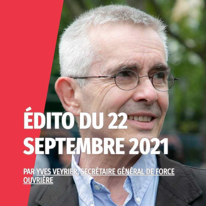 Yves Veyrier : #5octobre2021 - C'est parti !