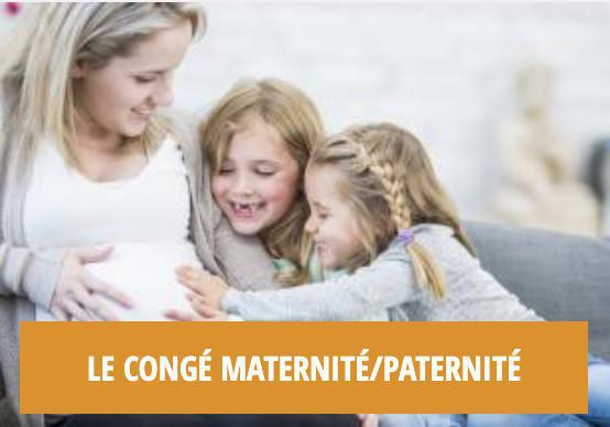 Les droits liés aux enfants : le congé maternité/paternité