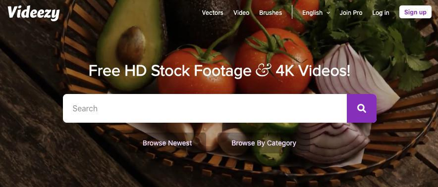 5 Websites de stock video