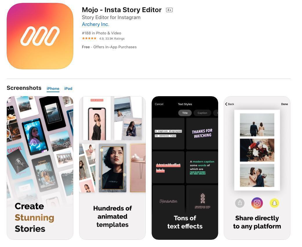 3 Apps para historias y redes sociales