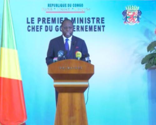 Allocution du premier ministre Clément Mouamba sur le déconfinement Covid-19