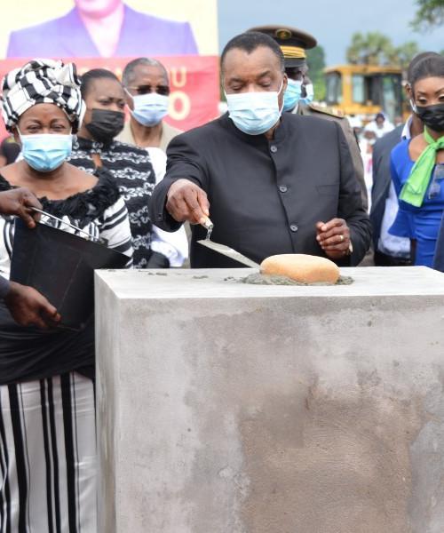 Denis SASSOU Nguesso lance la construction d'une nouvelle raffinerie à Pointe-Noire