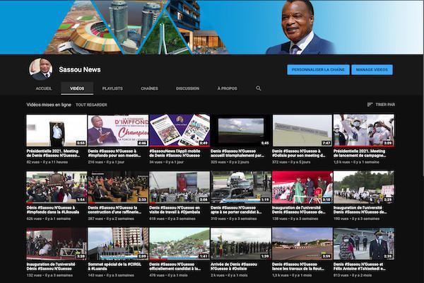 La campagne de Denis SASSOU NGuesso de jour en jour sur la plateforme #SassouNews