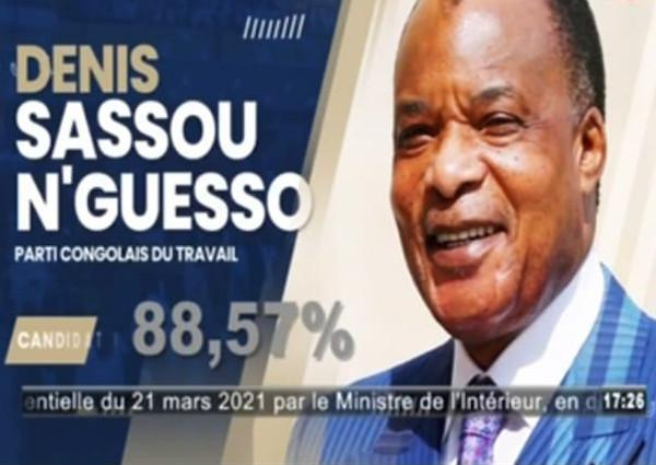 Présidentielle 2021: Sassou N'Guesso un coup K-O