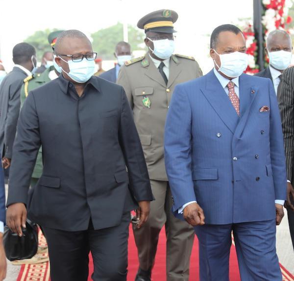 Arrivée des chefs d'État étrangers pour l'investiture de Denis SASSOU NGuesso