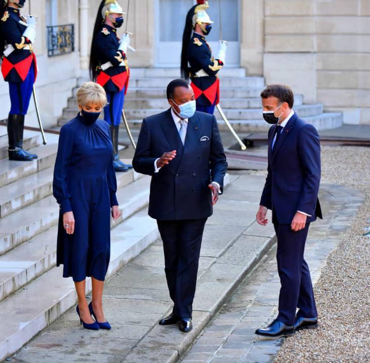 Denis SASSOU Nguesso au sommet des financements africains à Paris