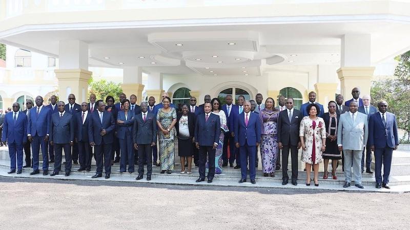 Conseil des ministres du premier gouvernement Collinet