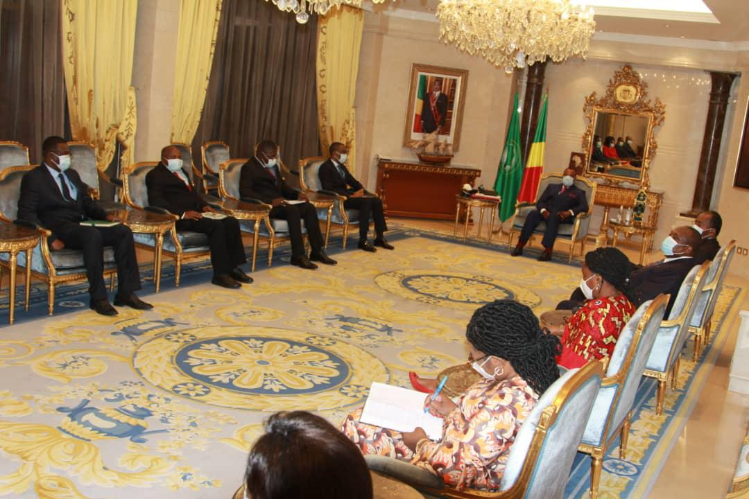 Le DG Afrique de la BAD chez Denis SASSOU Nguesso