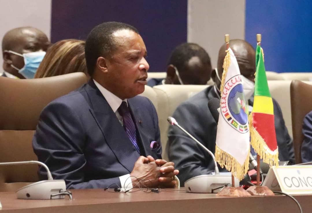 Denis Sassou NGuesso exhorte la CEEAC à soutenir la transition au Tchad