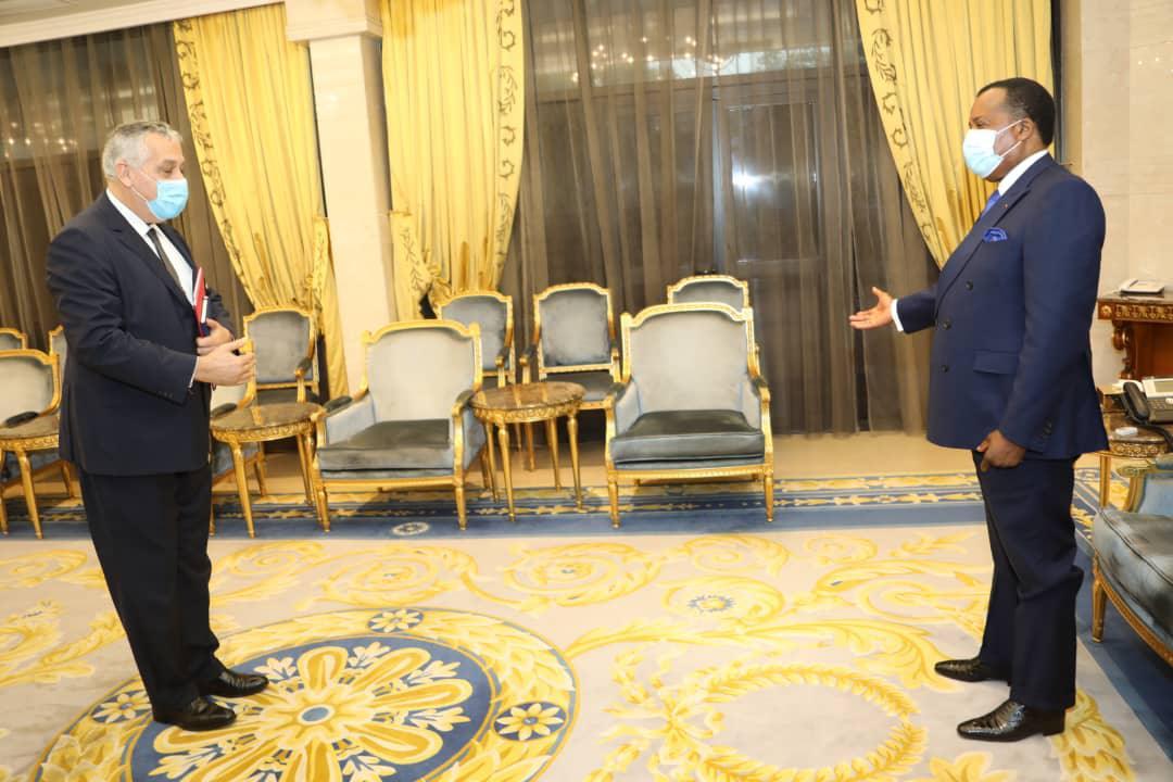 L'ambassadeur de France chez Denis SASSOU Nguesso