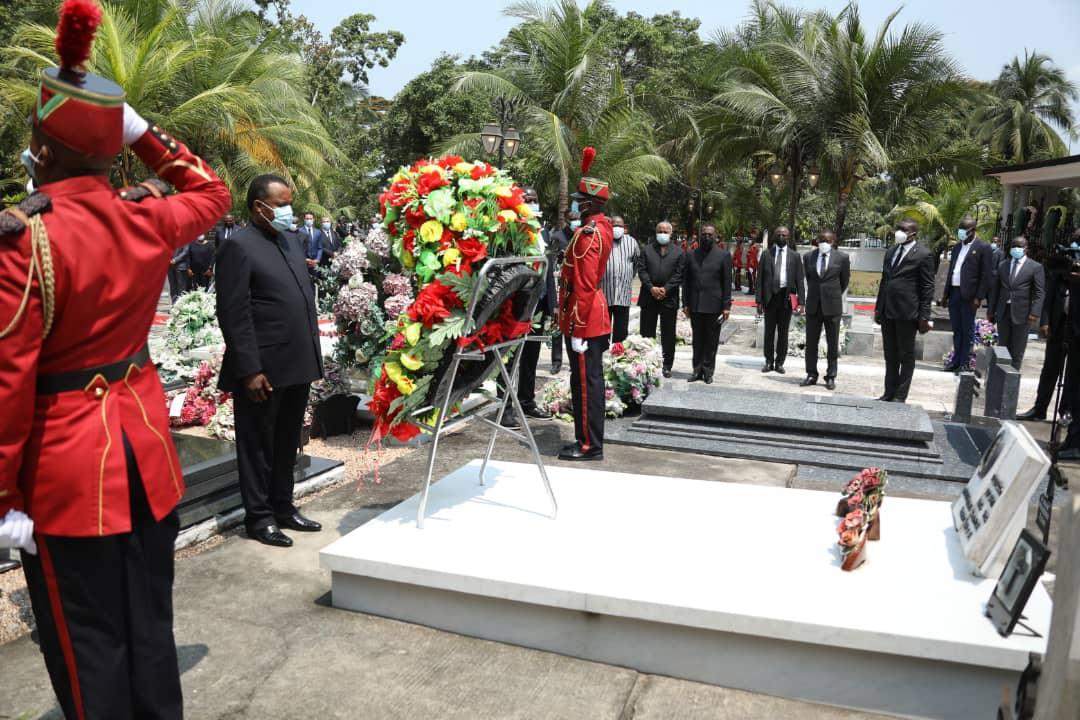 Denis SASSOU Nguesso commémore la mémoire de son père Feu Julien Nguesso