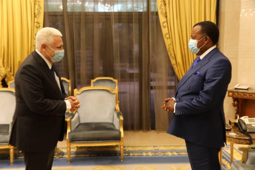 Congo-B. L'ambassadeur de l'UE fait ses adieux à Denis SASSOU Nguesso