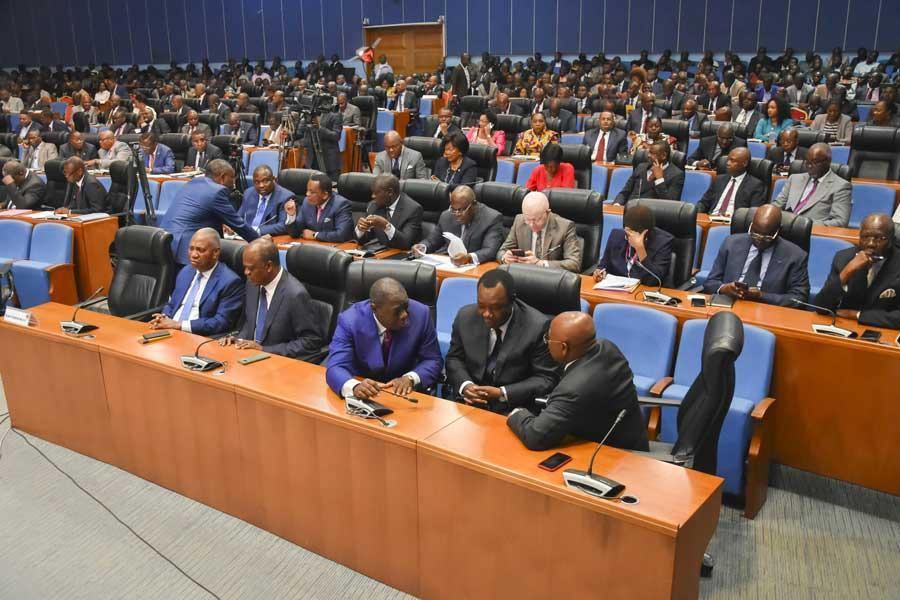 Congo-B. La 14ème session extraordinaire au parlement a planché sur le budget 2022