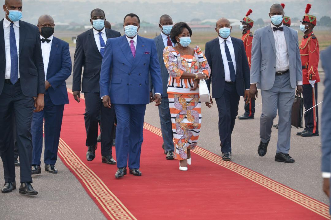 Congo-B. Denis Sassou N'Guesso de retour au pays après un séjour en Suisse