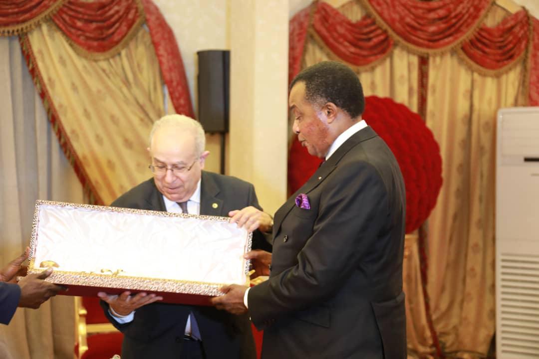 Ramtam #Lamamra porteur d'un message d'Abdelmadjid #Tebboune à Denis #Sassou NGuesso sur la #Libye