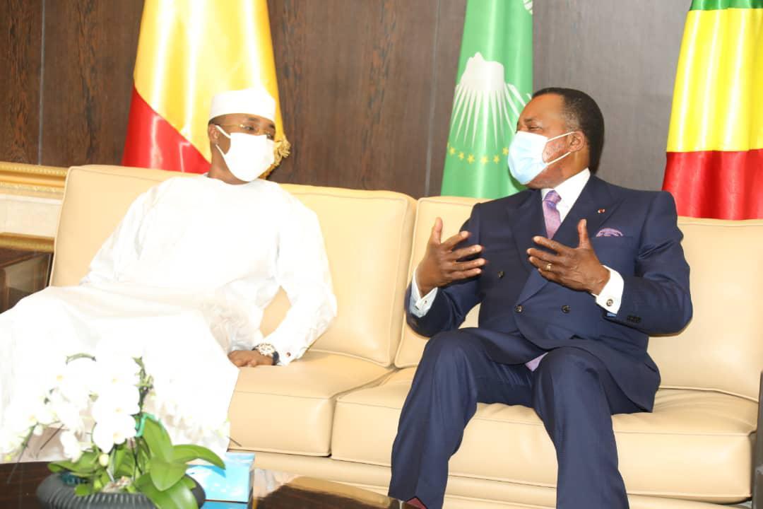 Diplomatie. Denis Sassou N'Guesso salue le bon déroulement du processus de transition au Tchad