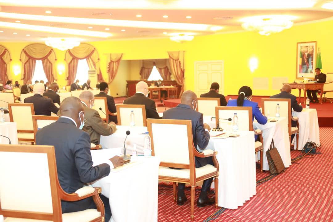 Conseil des ministres sous la haute autorité de Denis #Sassou N'Guesso