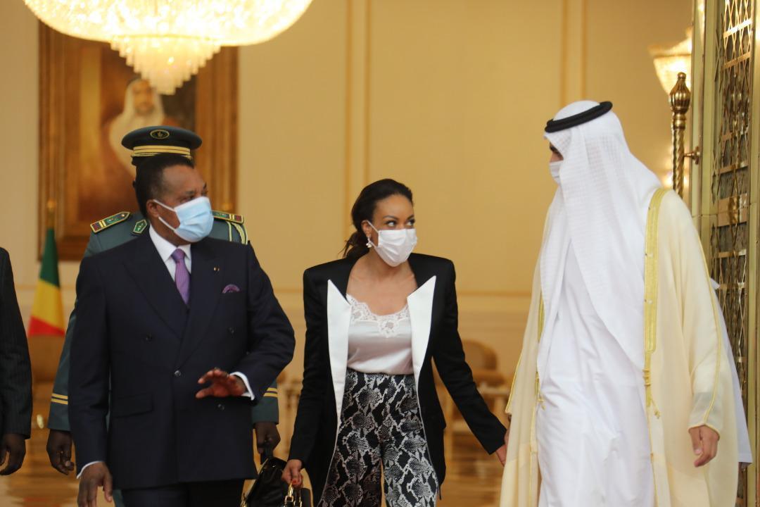 Denis Sassou N'Guesso en visite de travail à Abu Dhabi