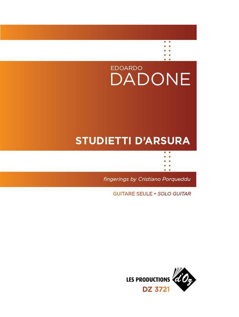 Pubblicati gli Studietti d'Arsura di Edoardo Dadone