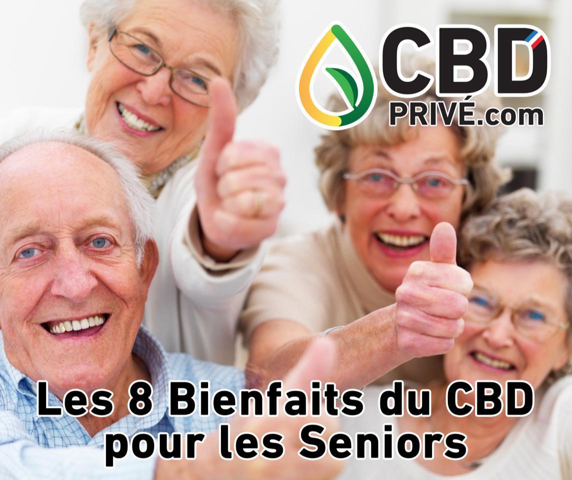 Les 8 bienfaits du CBD pour les Seniors