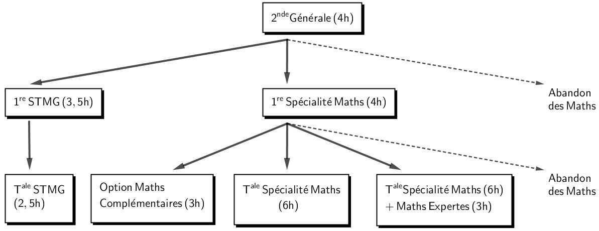 Les Mathématiques au lycée Louis Barthou