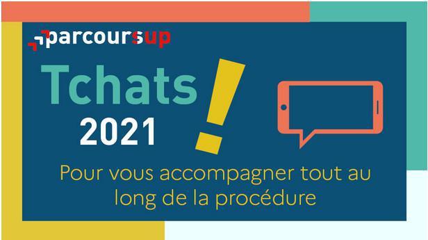 Orientation post-bac : les tchats Parcoursup 2021