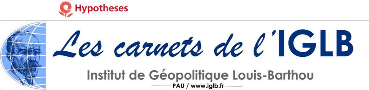 Géopolitique mondiale de la COVID - Une nouvelle publication de l'IGLB