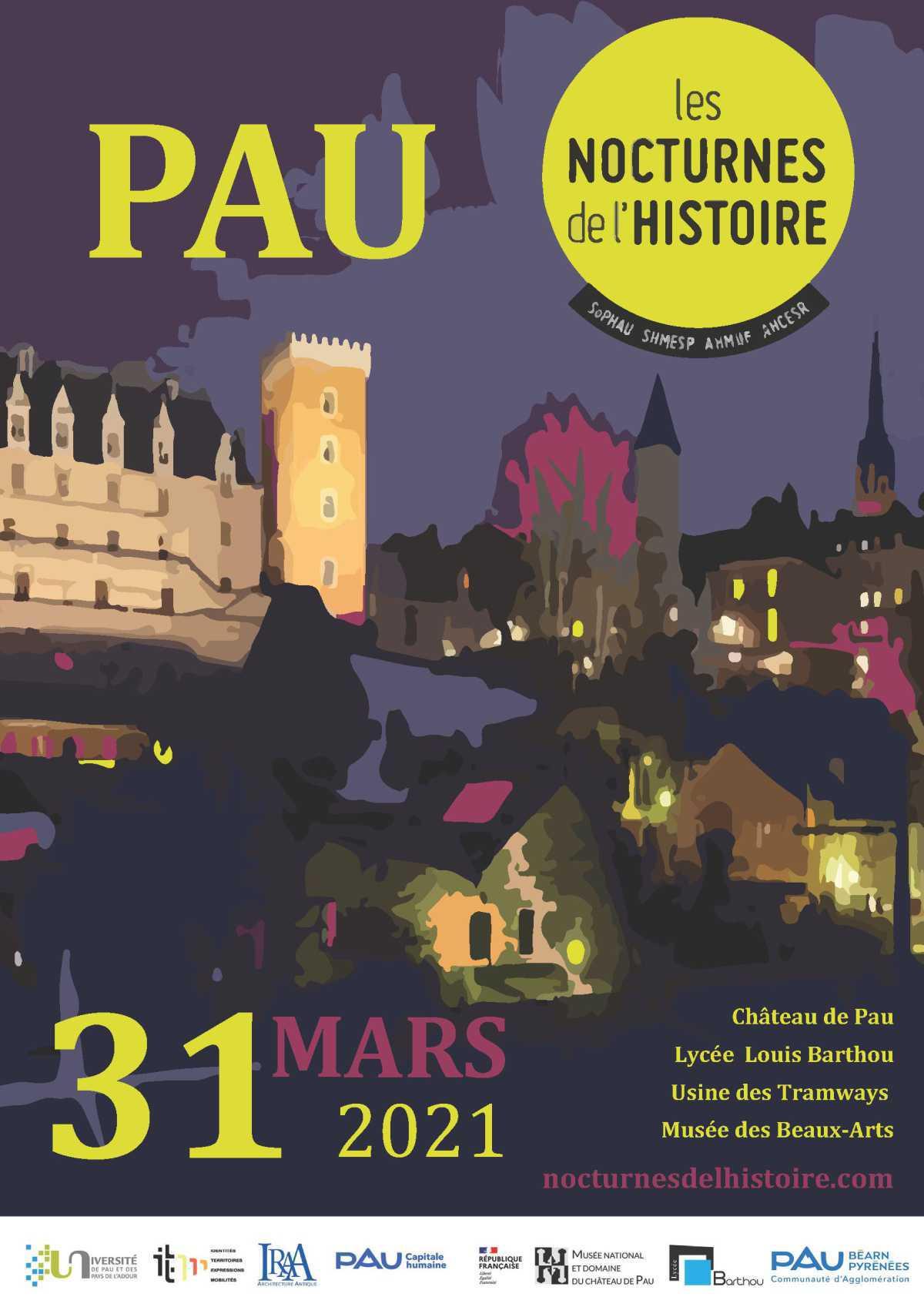 Le Lycée Louis Barthou participe aux Nocturnes de l'Histoire, le mercredi 31 mars 2021
