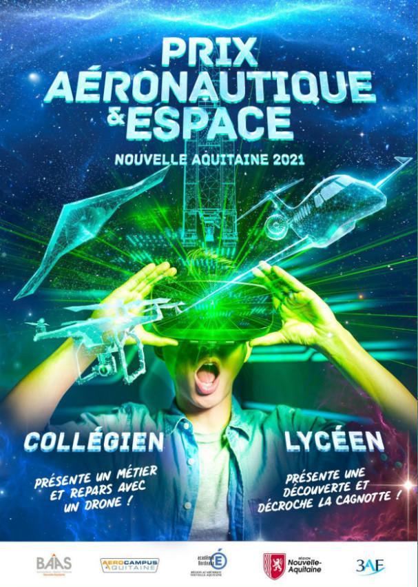 Prix Aéronautique et Espace Nouvelle-Aquitaine 2021 : des lycéen-ne-s présentent le métier d'ingénieur système de régulation moteur