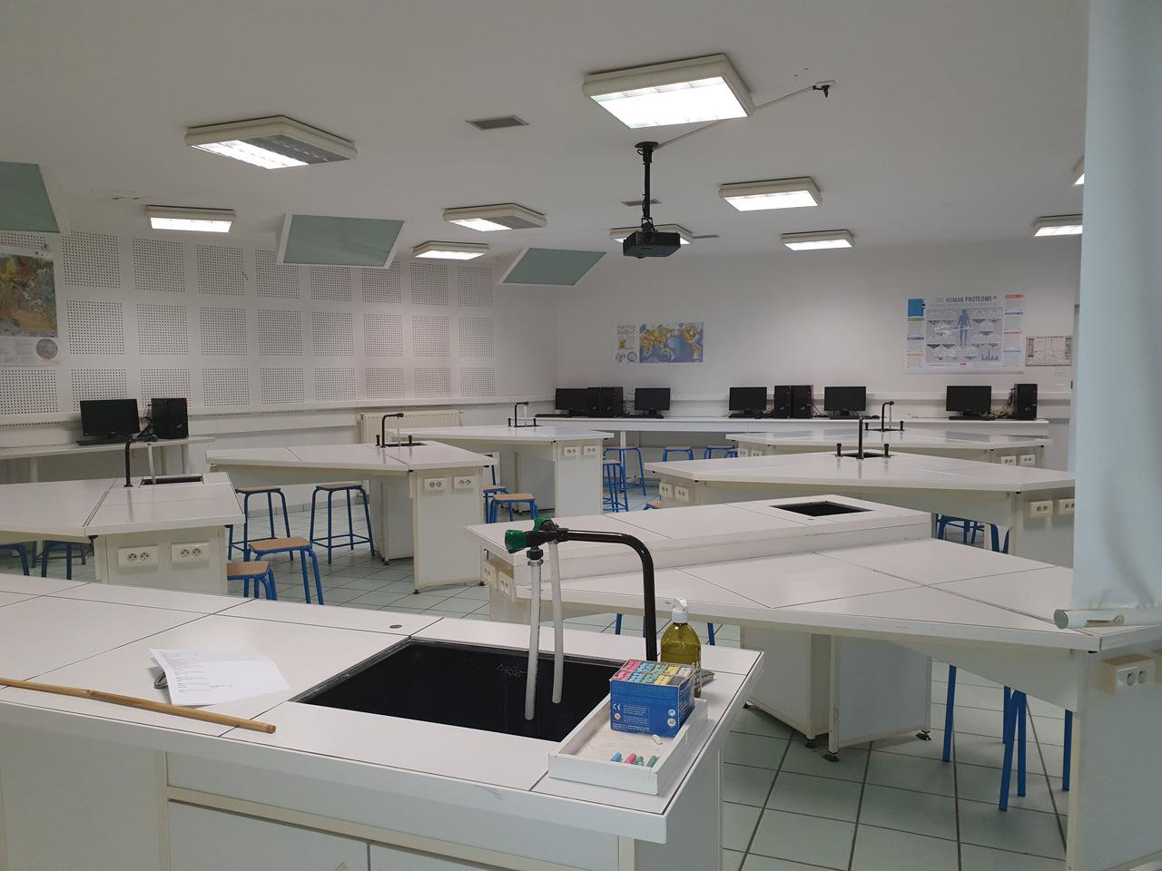 Salle TP sciences