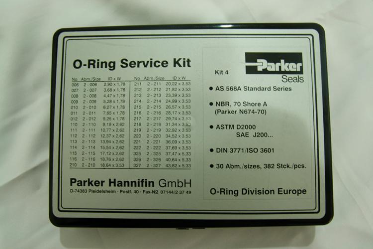 O-Ring Kit Parker NBR-70