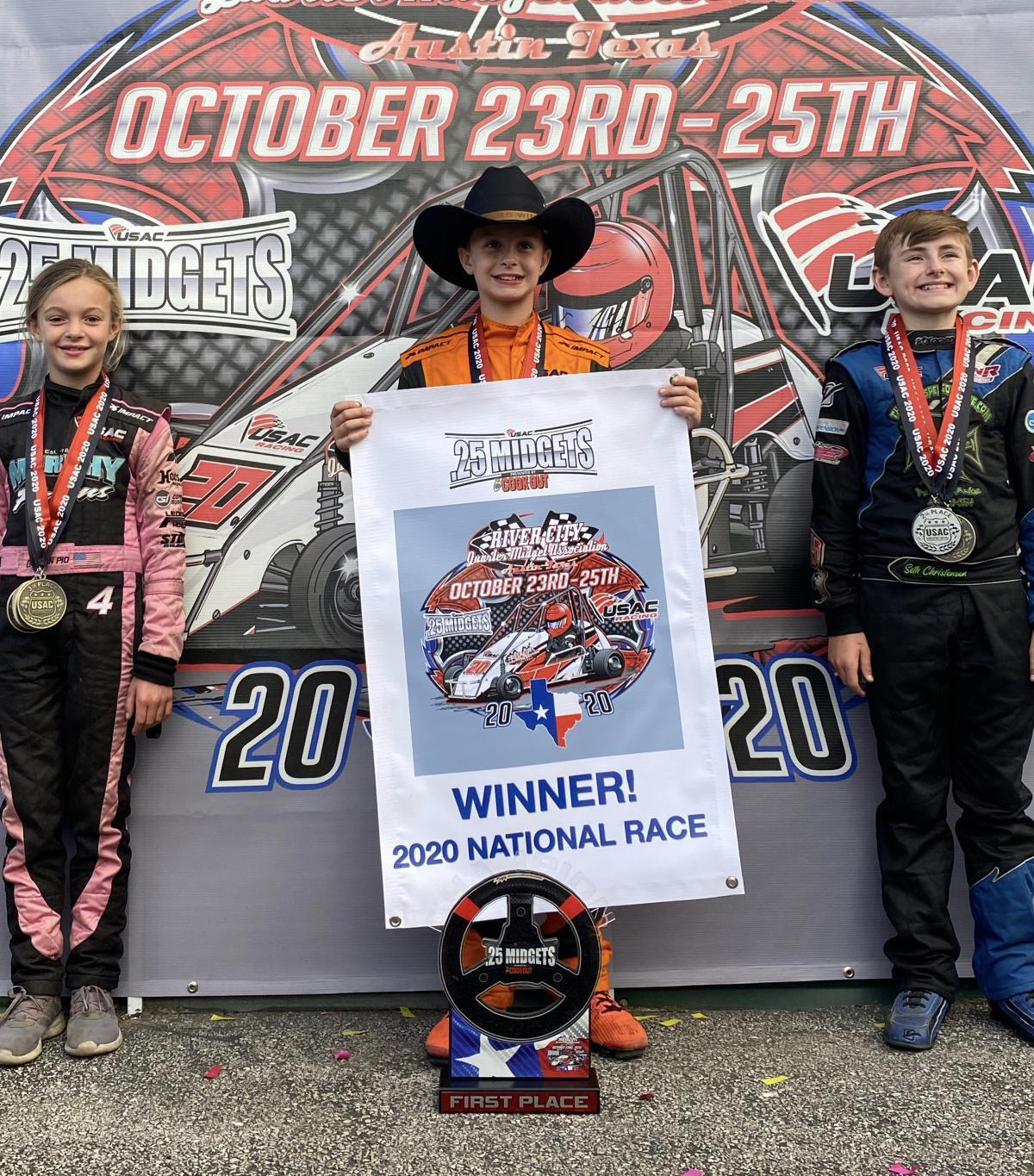 USAC.25 SERIES PRESENTED BY COOK OUT NATIONAL RACE AT RCQMA