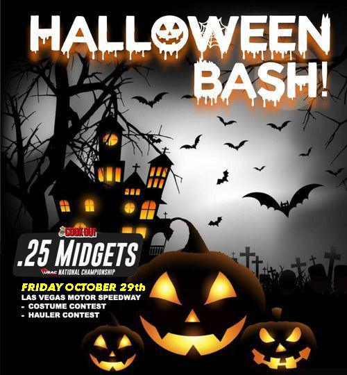 USAC .25 HALLOWEEN BASH SET FOR FRIDAY OCTOBER 29th