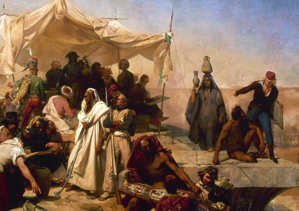 L'expédition en Égypte