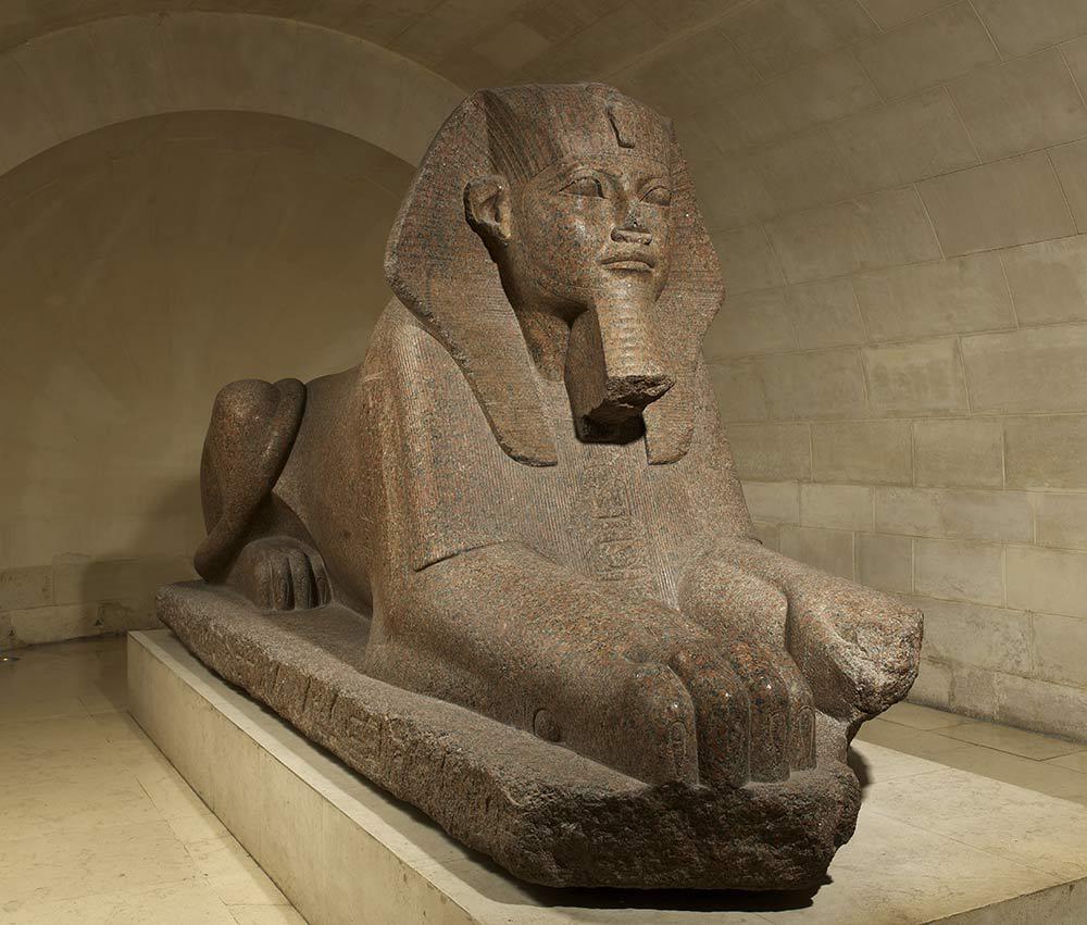L'allée de sphinx