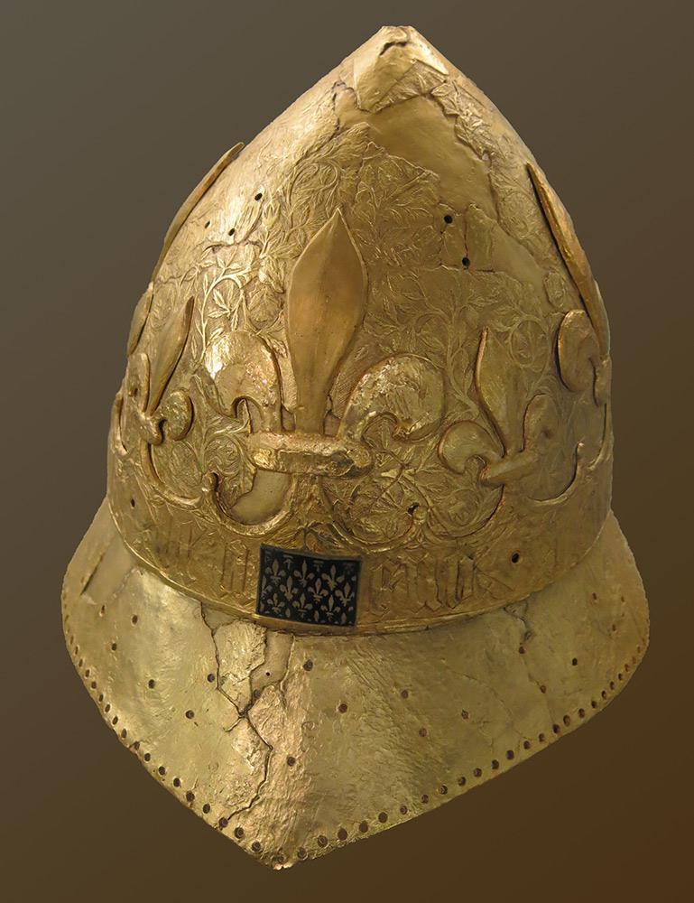 Le casque de Charles VI