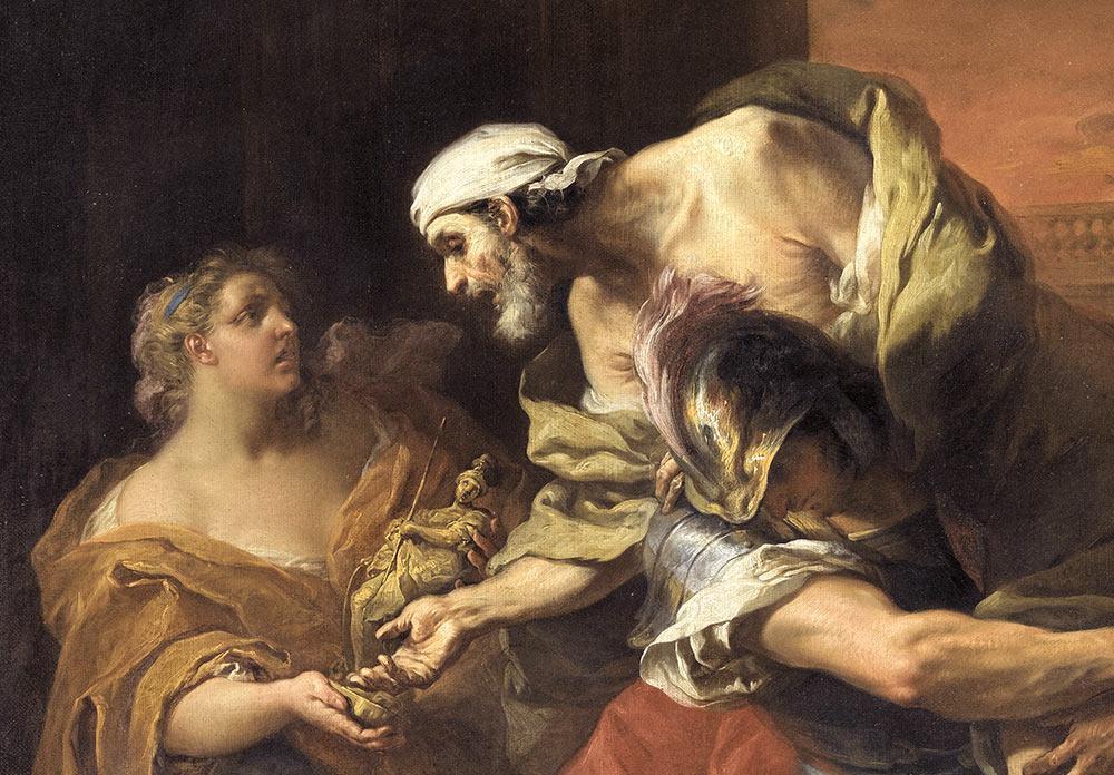 La fuite de Troie